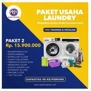 Paket Usaha Laundry 2