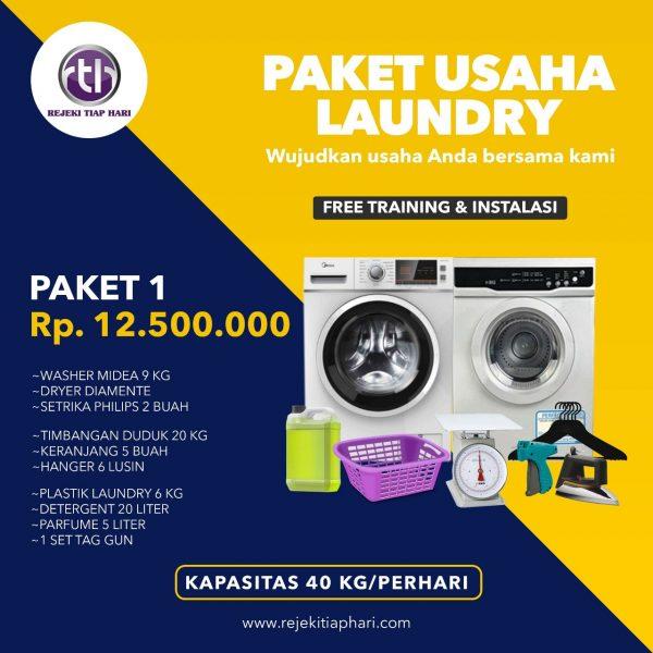 Paket Usaha Laundry Kiloan Jakarta