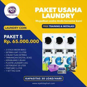 Paket Usaha Laundry Coin 5