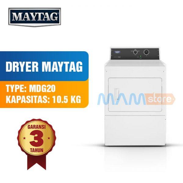 Mesin Pengering Dryer Laundry Maytag MDG20 Kap 10.5kg