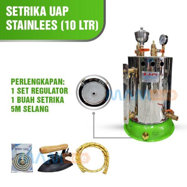 Setrika Uap 10 lt Full Stainless