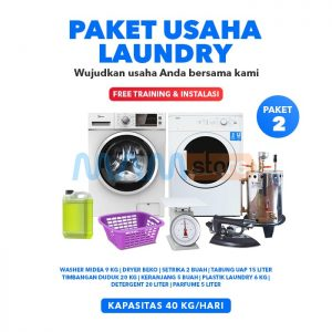 Paket Usaha Laundry Kiloan 2