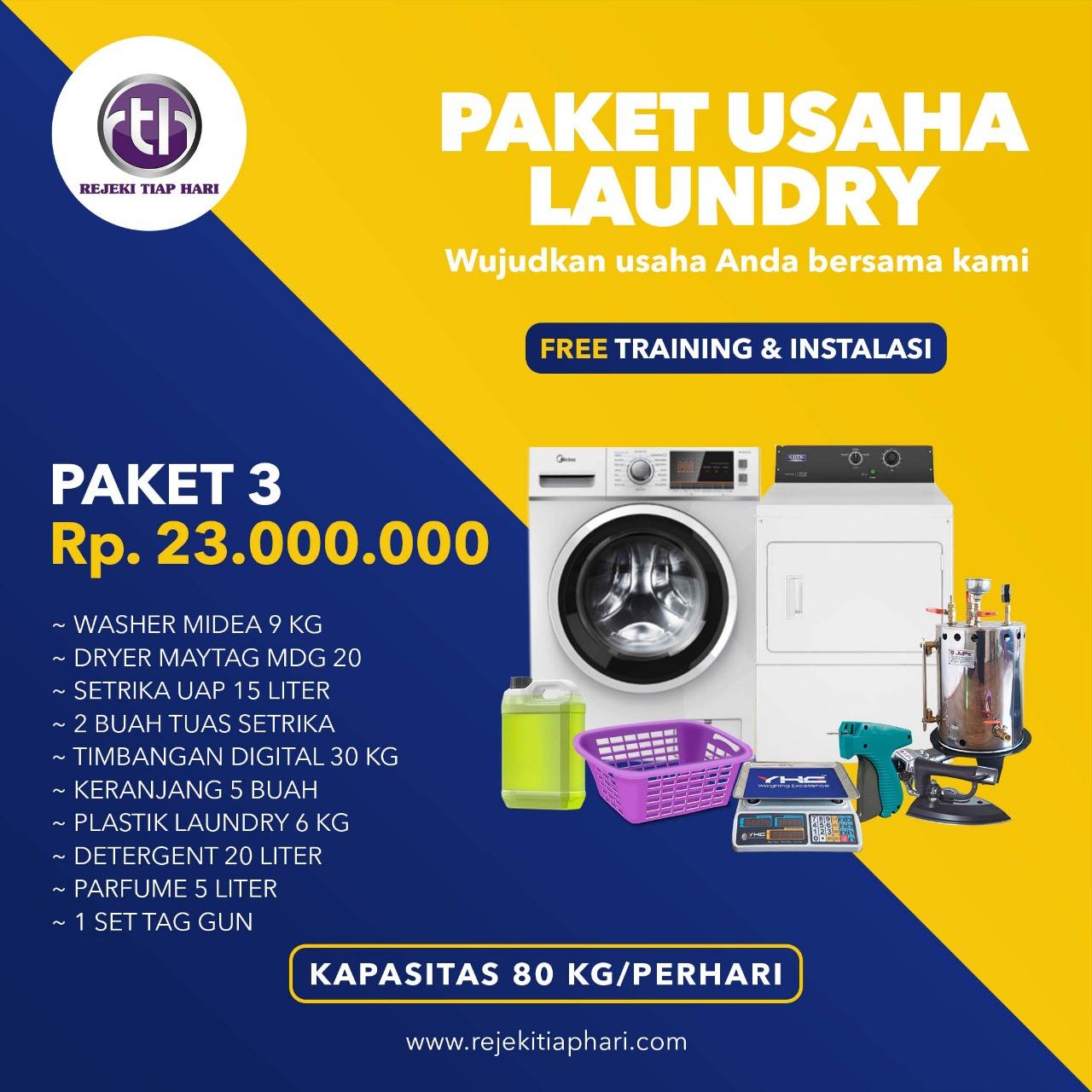 Paket Usaha Laundry Kiloan