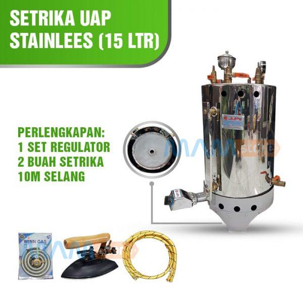 Setrika Uap 15 lt Full Stainless