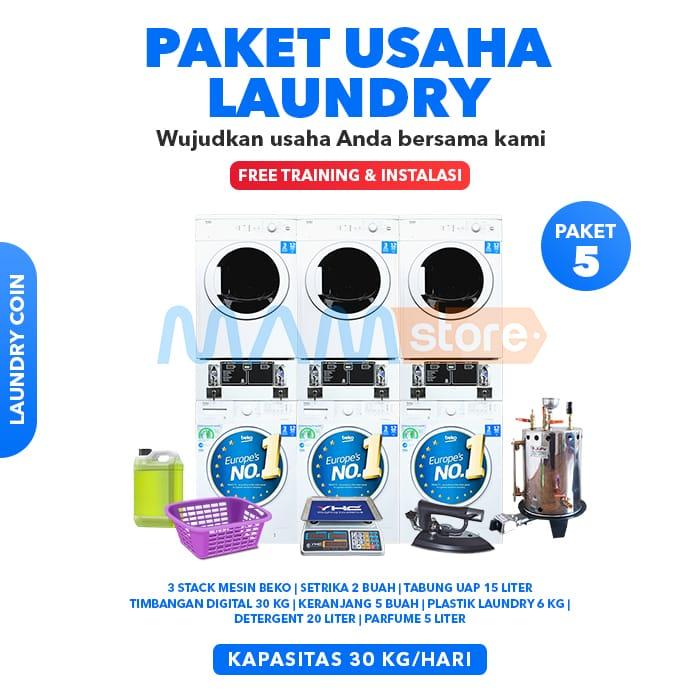 Paket Usaha Laundry Kiloan 5