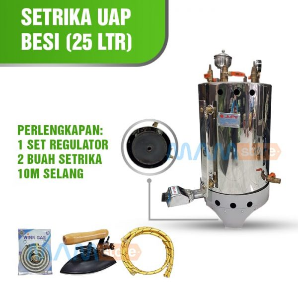 Setrika Uap Gas 25 Lt