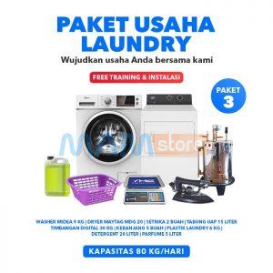 Paket Usaha Laundry Kiloan 3