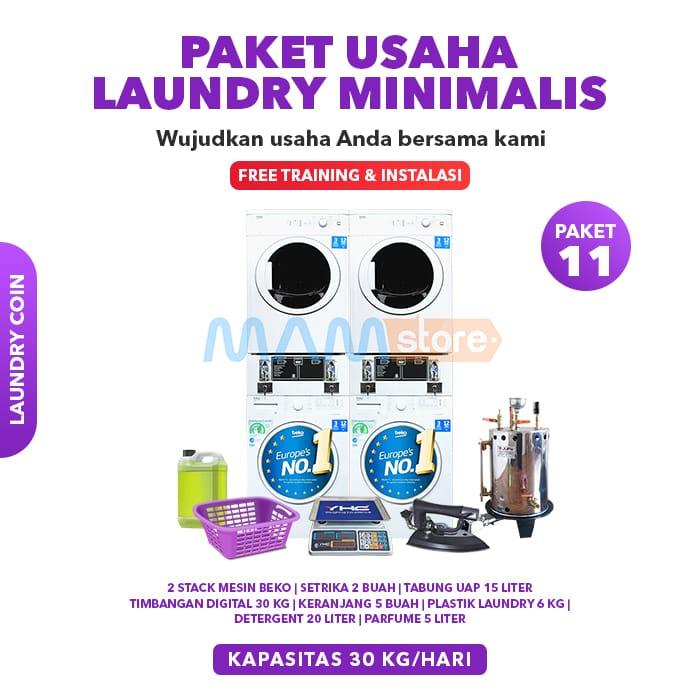 Solusi Start Up Paket Usaha Laundry Dengan Investasi Terjangkau
