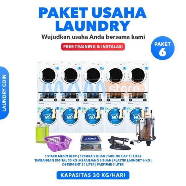 Paket Usaha Laundry Coin 6