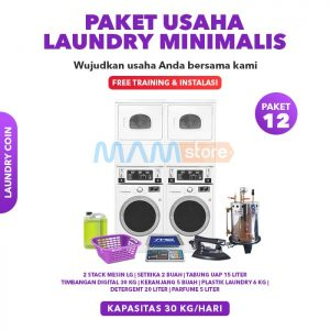 Paket Usaha Laundry Coin Minimalis  2