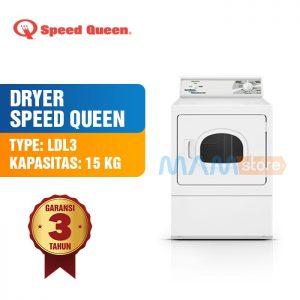 Speed Queen Gas Dryer LGS-37 AWF Mesin Pengering Laundry
