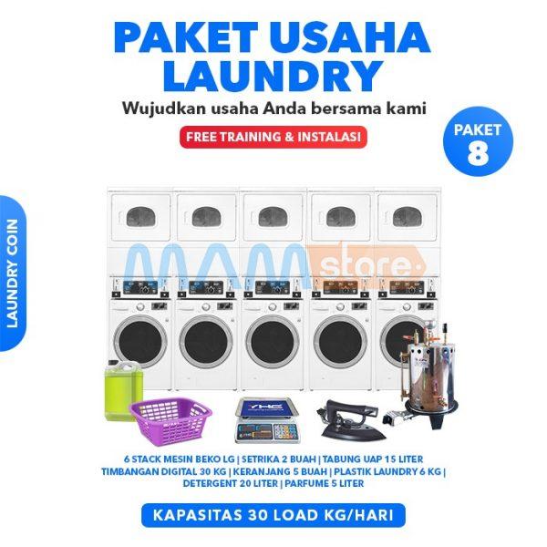 Paket Usaha Laundry Coin 8